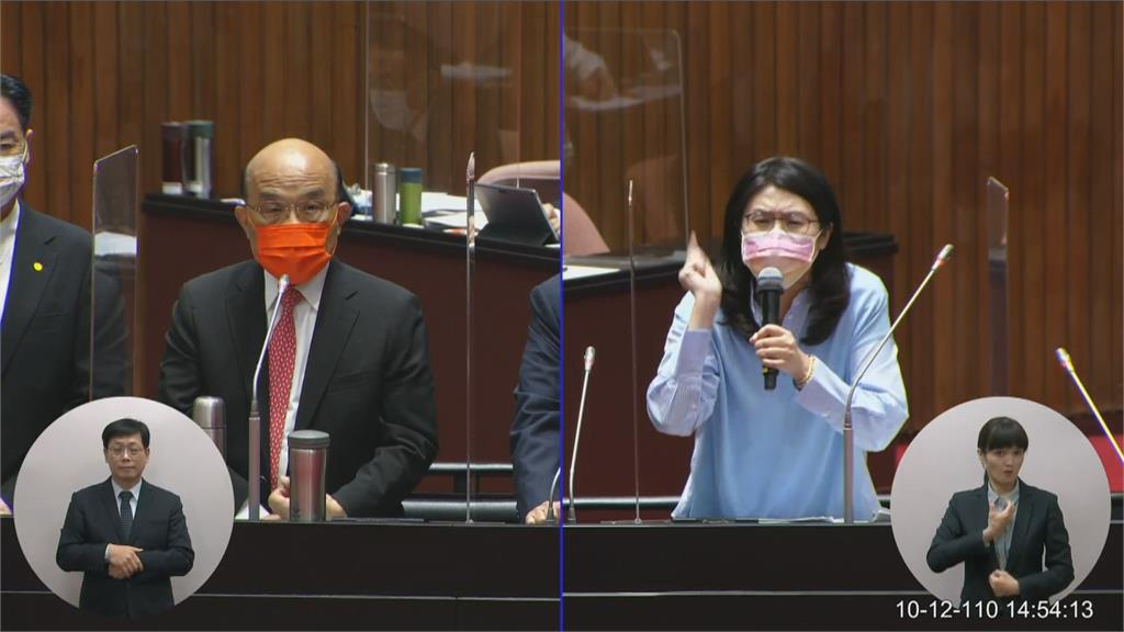 快新聞/蘇貞昌嗆「要憤然抵抗叛徒」  鄭麗文自曝:蘇揆曾幫她站過台