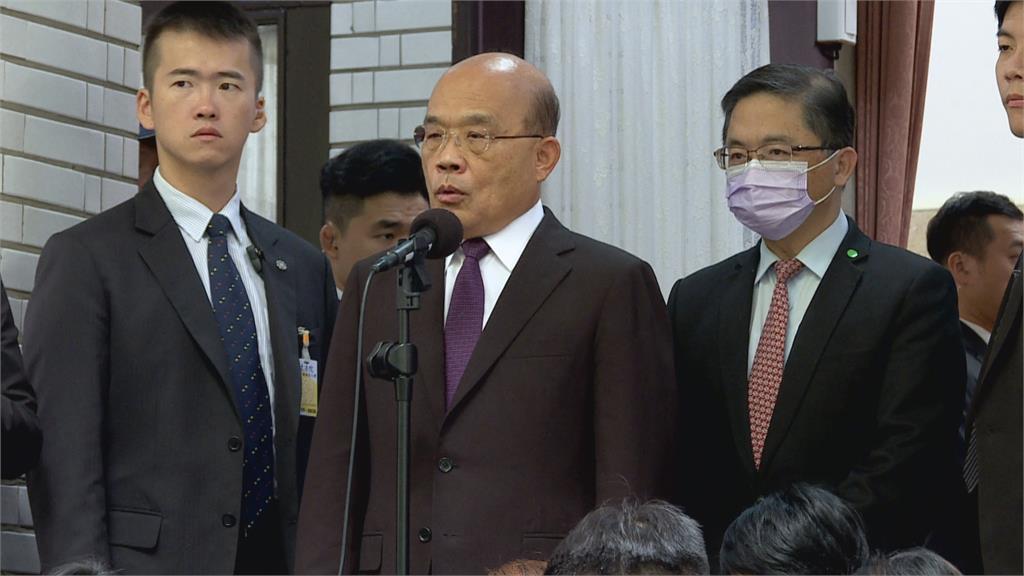 52億防疫預算被批小金庫 蘇貞昌:不是院長私房錢