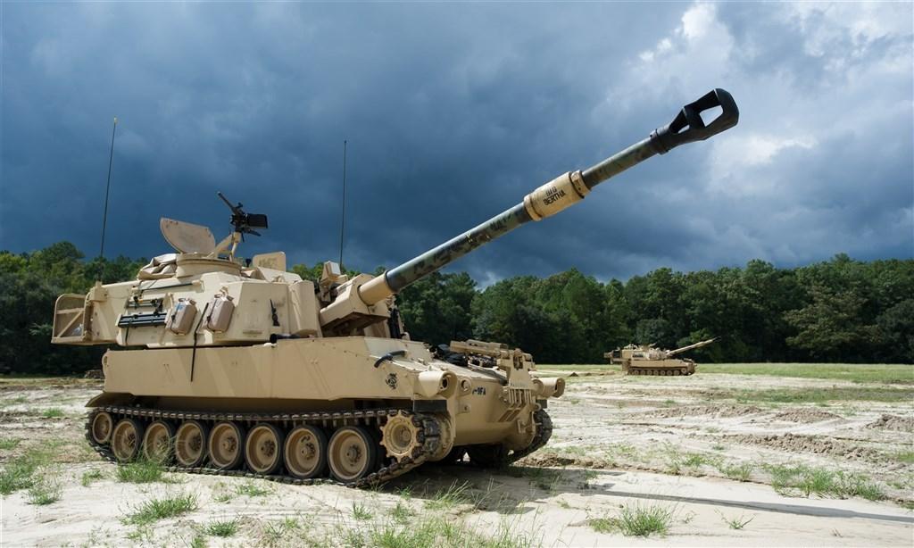 拜登政府首次對台軍售!210億元售台40門M109A6自走砲