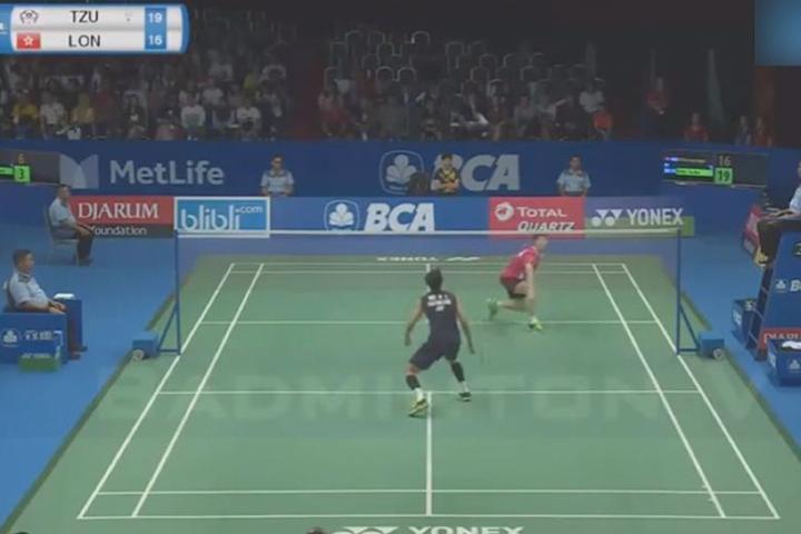 印尼羽球賽台灣驚奇 王子維擊敗奧運金牌林丹