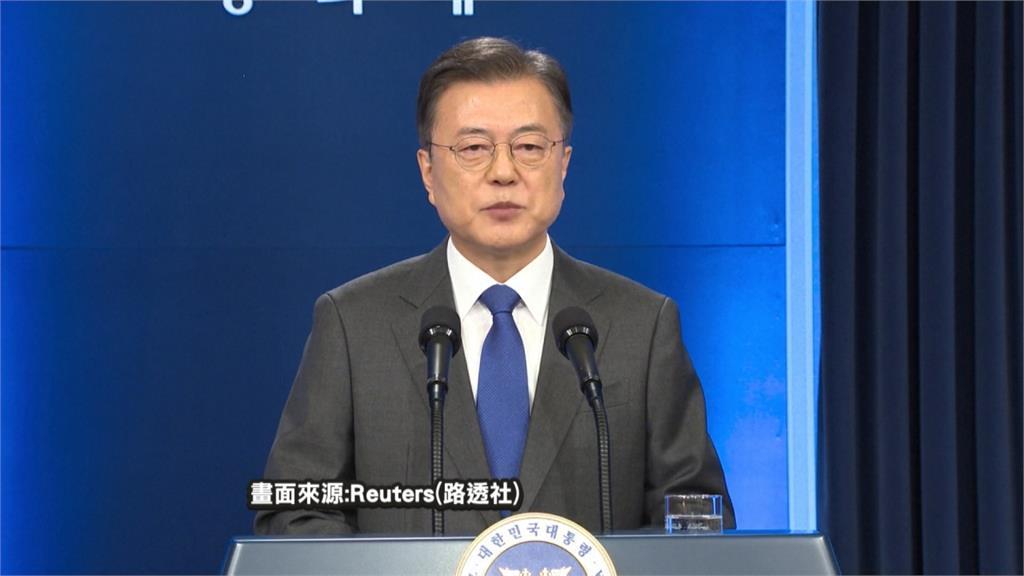 支持率頻創新低任期最後1年...文在寅:與北朝鮮達成和平最後機會