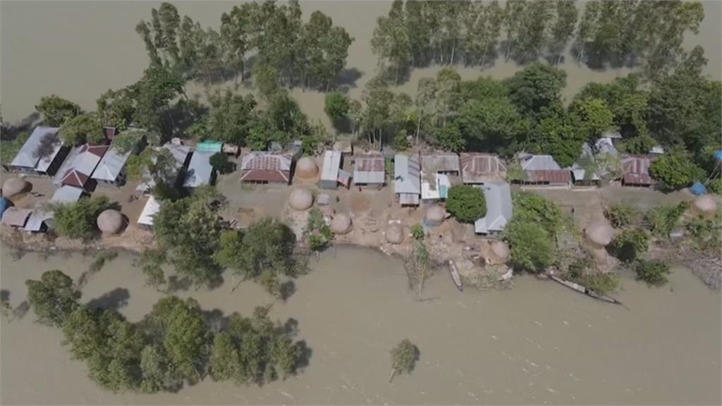 孟加拉淹大水 200死1/3國土沒入水中