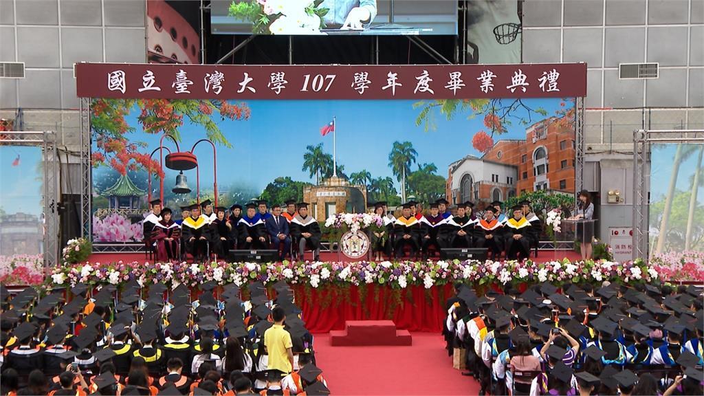 台大畢典竟用中國軍歌 校方解釋:外包廠商疏忽