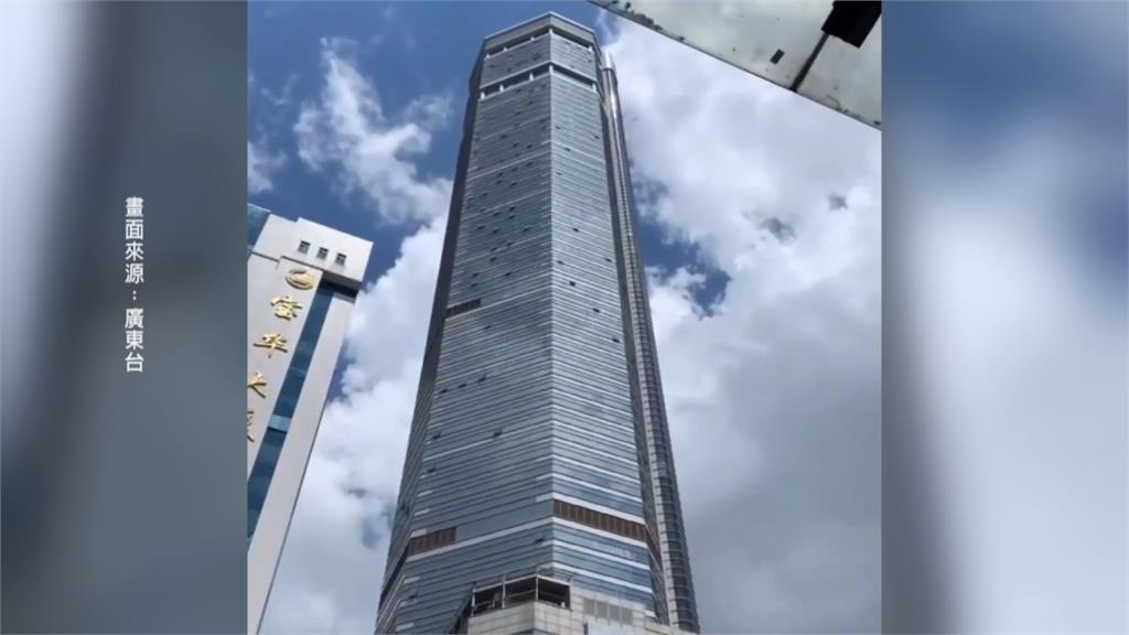中國深圳摩天大樓「超自然震動」上千民眾憂倒塌驚慌逃難!