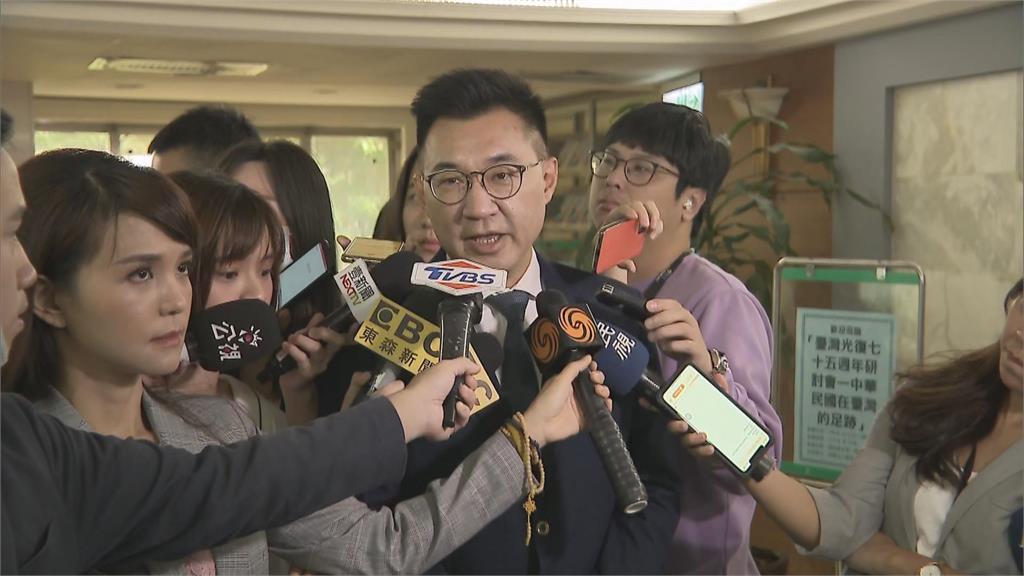 快新聞/舉辦台灣光復節活動遭嗆 江啟臣三度強調:要台獨去找蔡英文,要捍衛中華民國的來找我