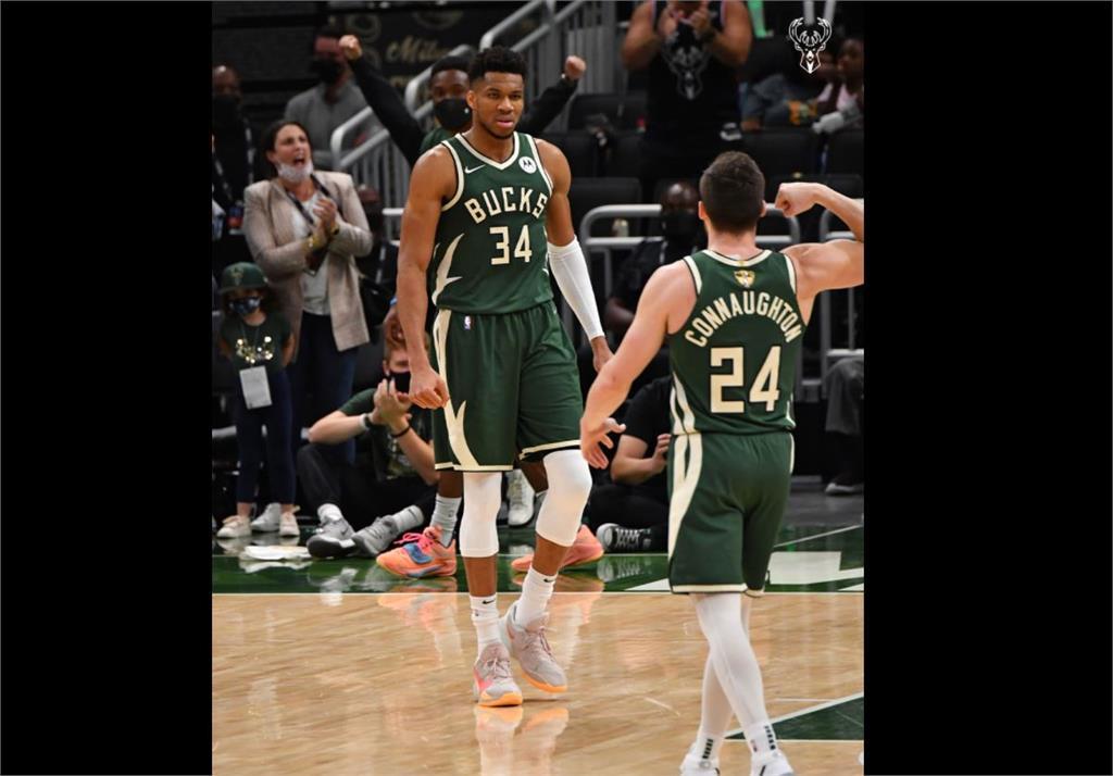 NBA/字母哥41分領軍公鹿擊敗太陽 總冠軍系列賽追成1比2