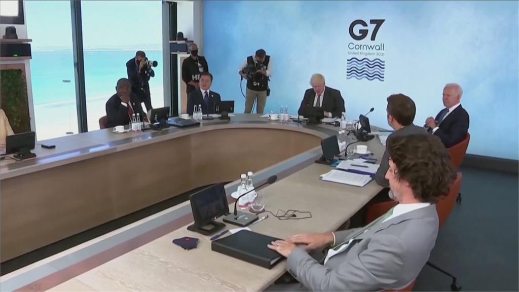 G7首提台海和平重要性 將捐疫苗籲調查疫情源頭