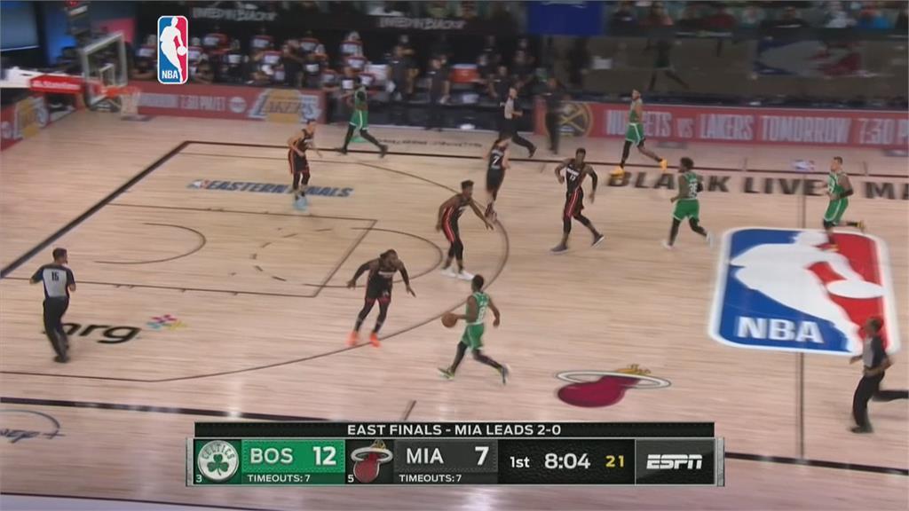 NBA東區冠軍賽 塞爾提克第三戰滅熱火戰績追成1勝2敗