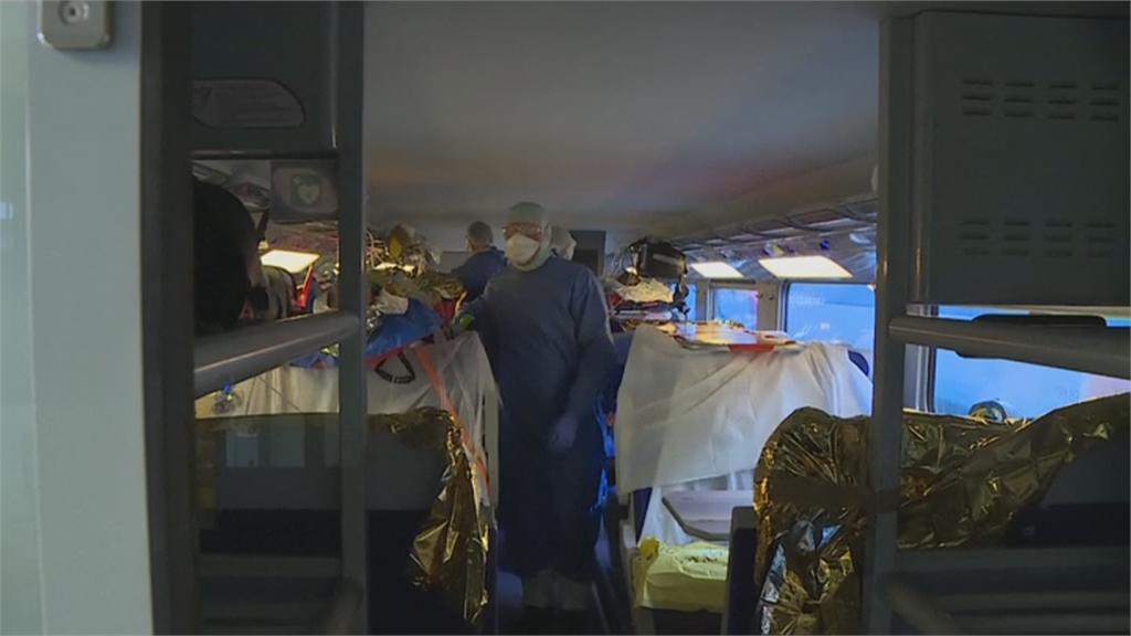 防疫高鐵助武肺患者轉院 分散醫療資源