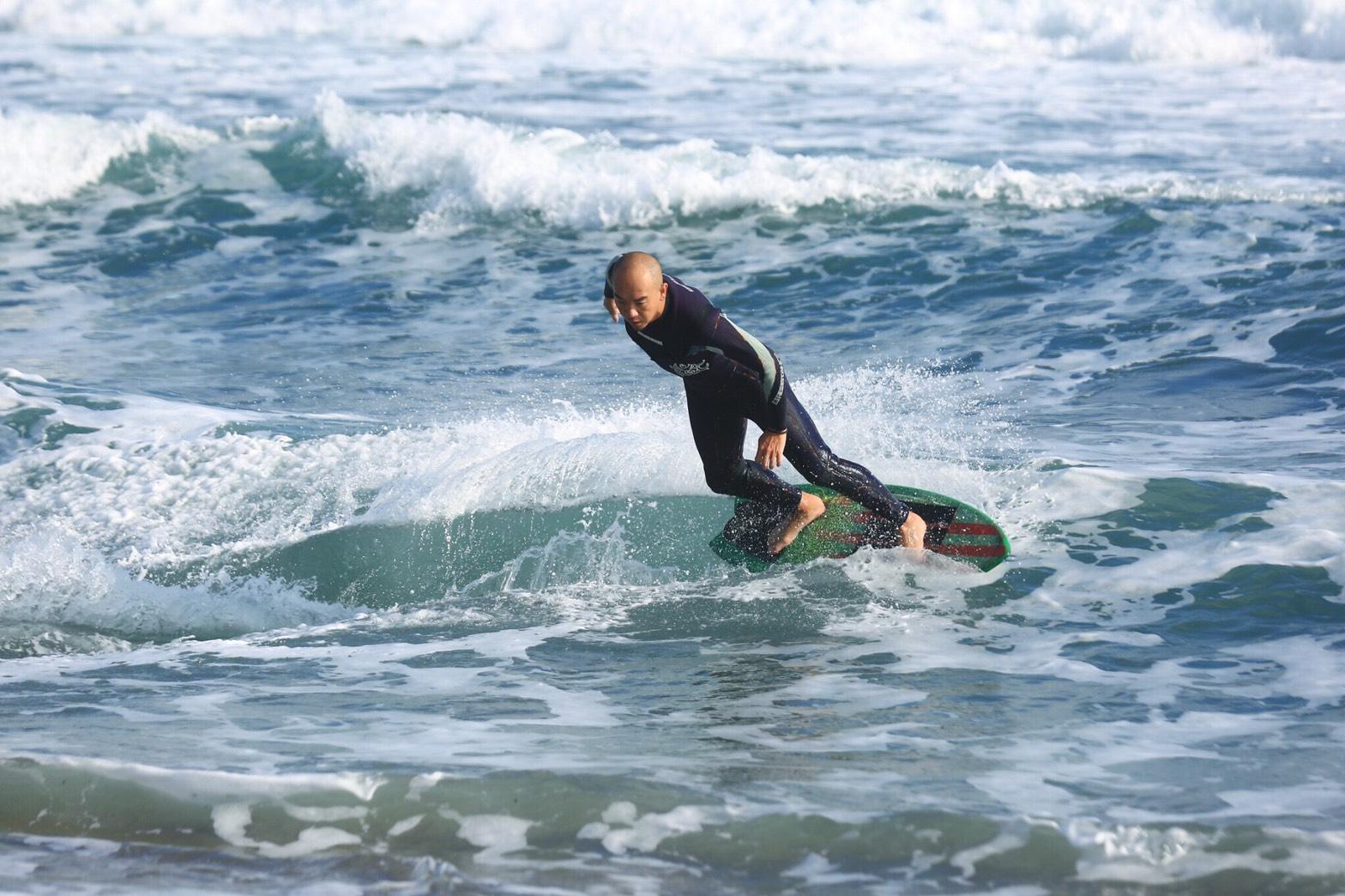 中角灣國際衝浪基地啟用  青春山海線-運動觀光新景點