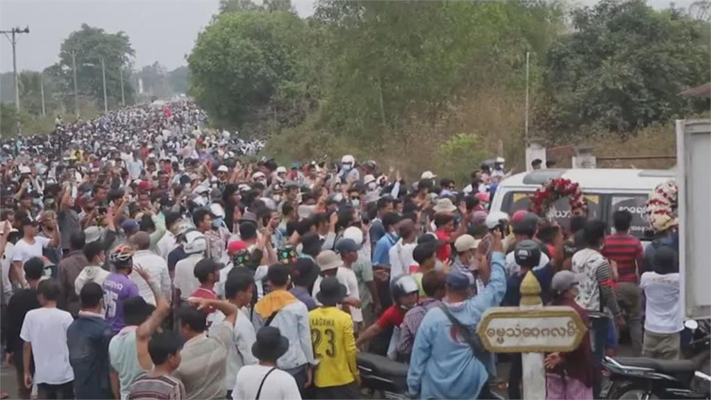 緬甸血腥實彈鎮壓單日釀38死 UN特使籲對軍方採強硬措施