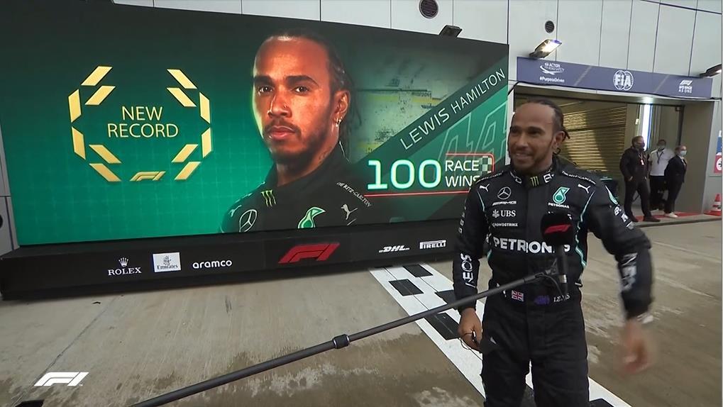 F1俄羅斯站封王 漢米爾頓奪第100座冠軍