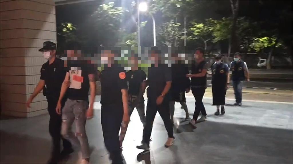 高雄深夜發生鬥毆案 警迅速逮5人移送法辦