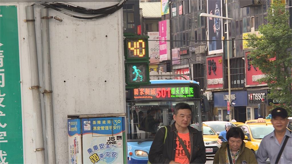 平均1秒須走1.7公尺!民眾過馬路笑稱:像極限運動