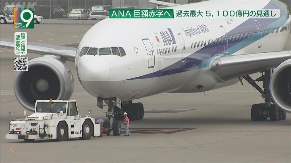 疫情重創航空產業 日ANA全日空預計淨虧5100億