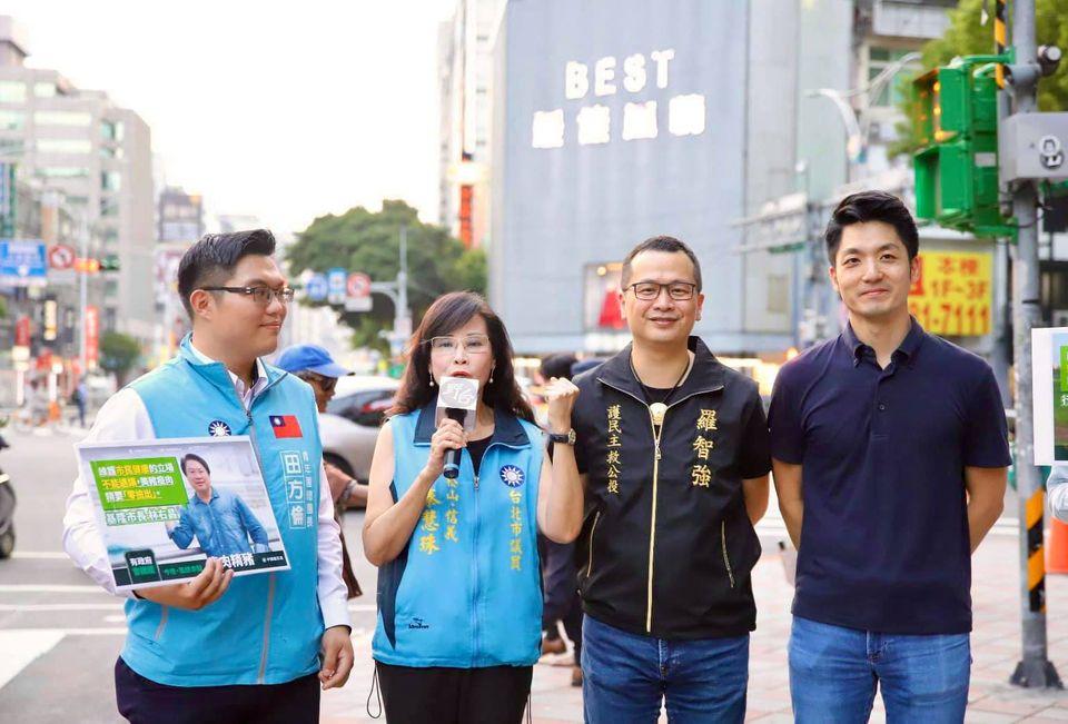 快新聞/蔣萬安、羅智強同框 齊聲避談北市長選舉:今天不談選舉 只談公投