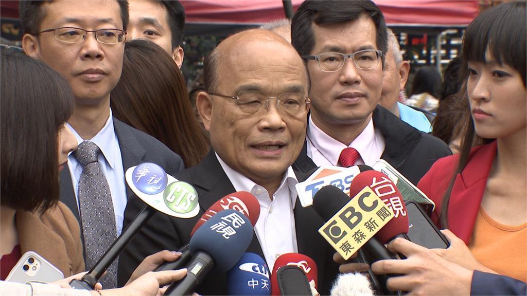 駁黃智賢「泯滅人性」說 蘇貞昌反轟中國隱匿疫情