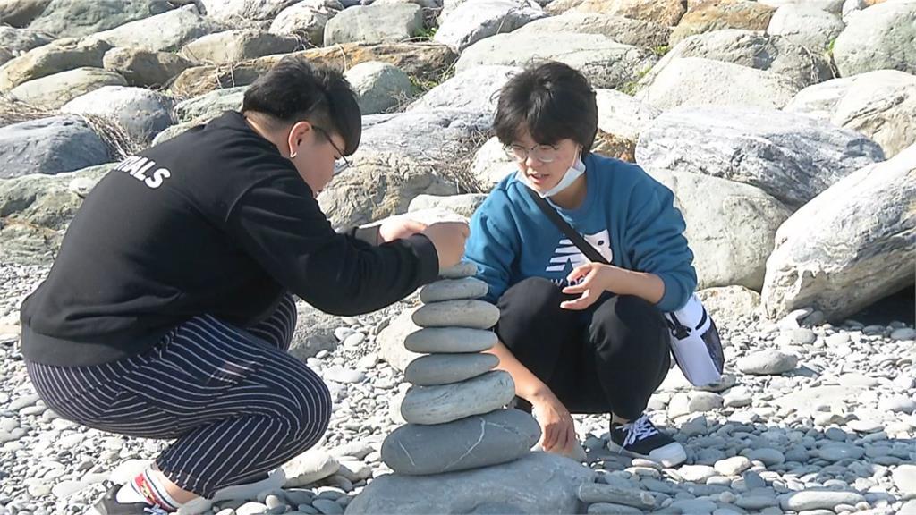 七星潭鵝卵石變少 疑為遊客撿拾及季節有關