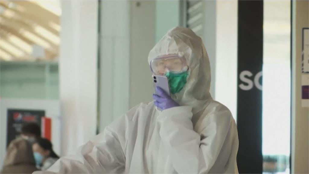 德法機場祭新規定 旅客須全程戴口罩