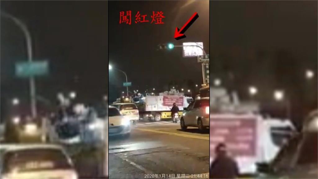 資源回收車當路霸?遭民眾投訴闖紅燈、佔車道