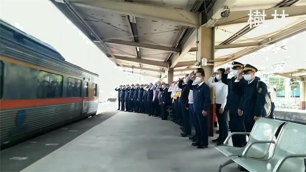 任務結束!台鐵「126秒影片」悼念太魯閣號司機 全線120列車鳴笛:一路好走