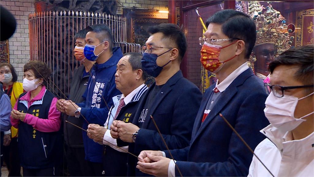 馬英九、江啟臣、趙少康初三將同台 黨主席之爭提前白熱化?