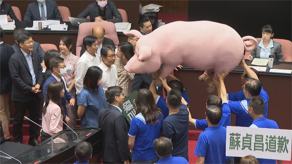 開放美豬進口行政命令改審查  蘇貞昌:不反對、尊重立法院運作