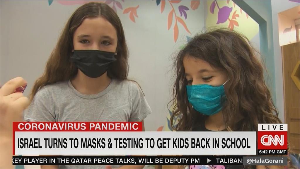 以色列「與病毒共存」 持完整接種證明才能返校