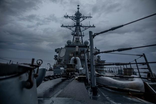 中國又要生氣了!美軍驅逐艦通過台灣<em>海峽</em> 我國防部:全程掌握