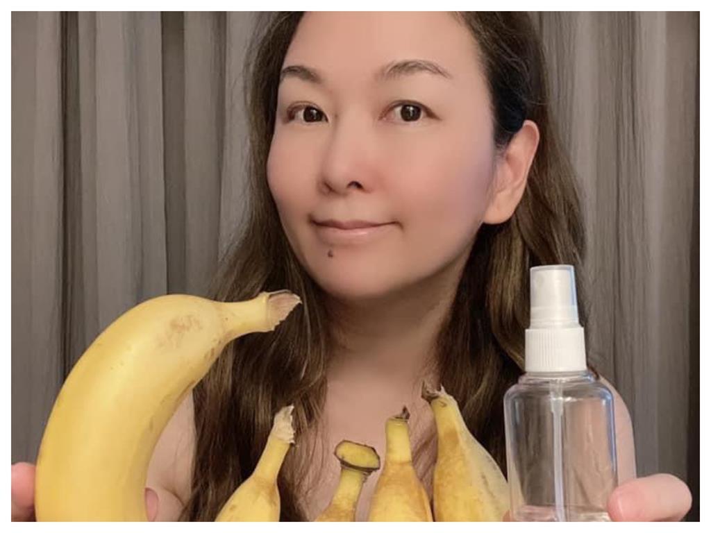 連香蕉都要噴酒精!台語歌后防疫100分 把「尪脫到剩內褲」猛消毒