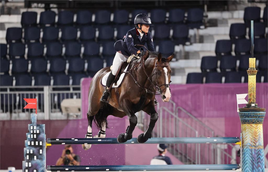 東奧/國巨千金陳少曼馬術障礙賽獲第47名 無緣晉級決賽