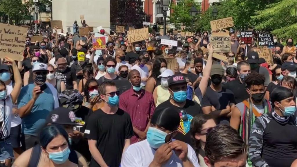 非裔之死/歷來最大規模!美國華府百萬人今上街示威