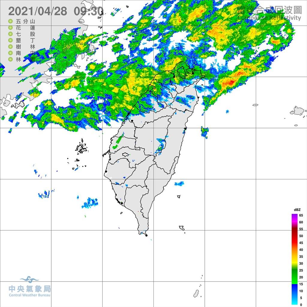 鋒面接近台灣 鄭明典:雨區很快會往南