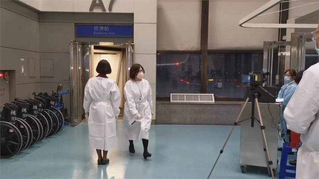 華航英國返台班機 1人發燒送醫4人曾有症狀