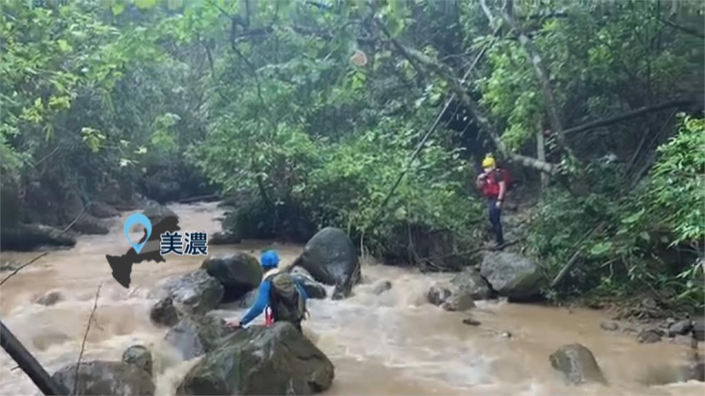大雨沖斷水管 男子上山接管失蹤!美濃湖找到遺體