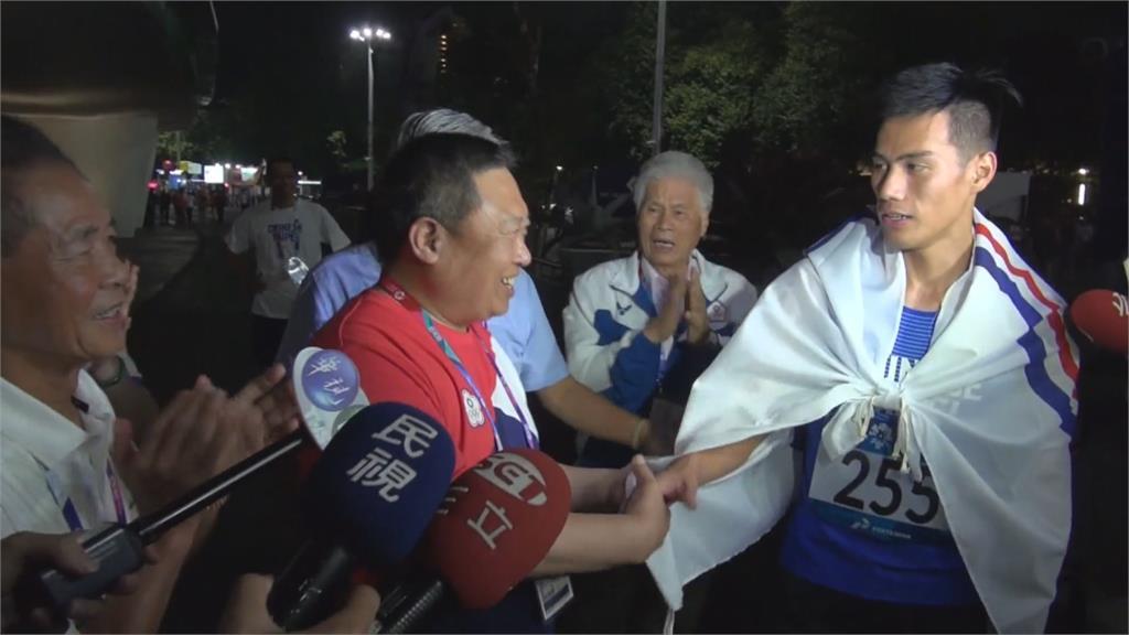 台灣最速男楊俊瀚100公尺分列第五 無緣晉級