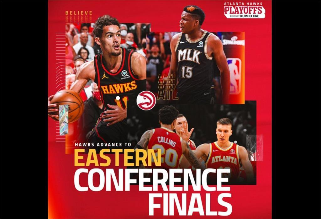 <em>NBA</em>/老鷹啄傷76人 闖進東區決賽