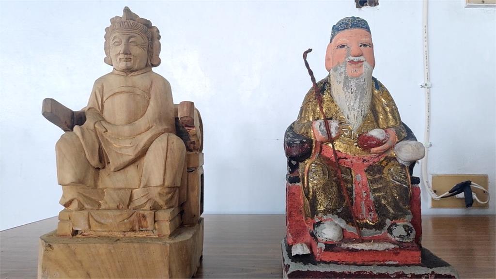 拿去做醫美?百年土地公婆神像失蹤尋獲「變年輕」