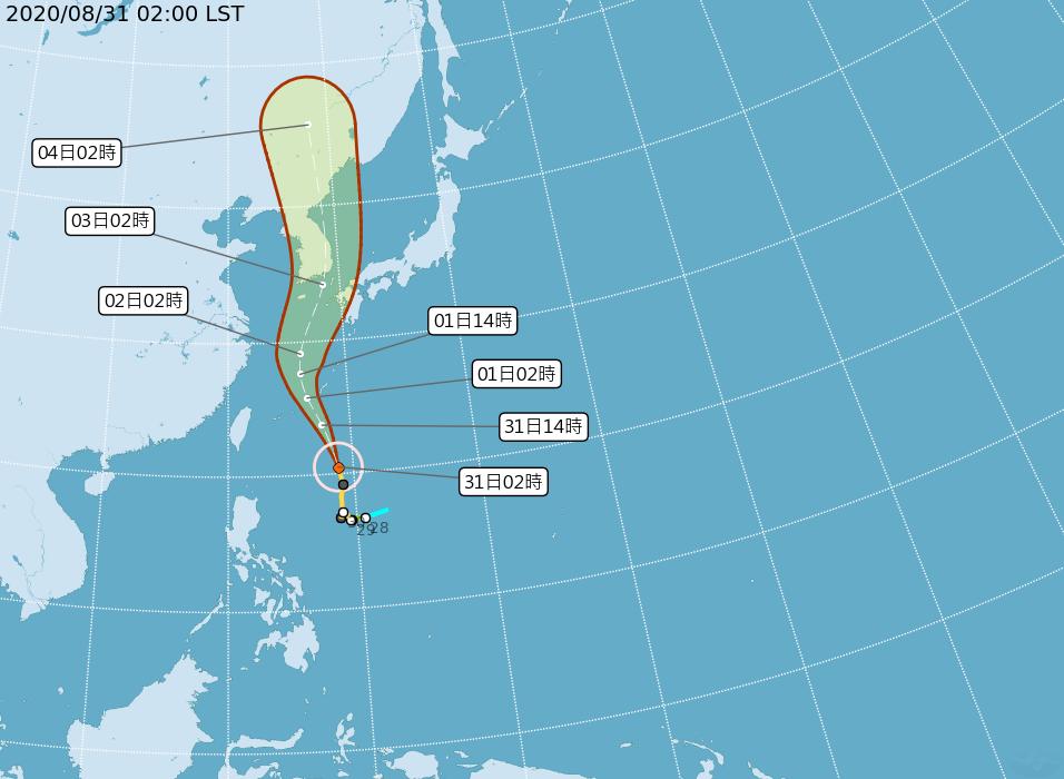 快新聞/開學日注意! 外圍環流影響北部、東北部有短暫陣雨