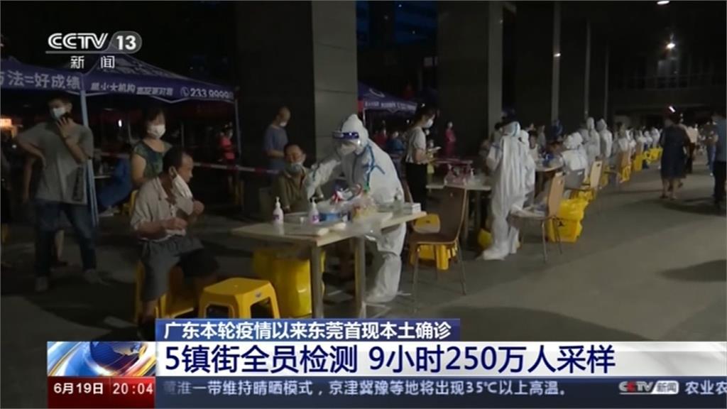 復燃!中國廣東再增6本土確診 有擴散趨勢