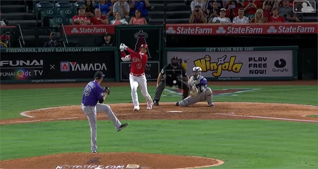 MLB/大谷翔平擊出本季第36轟 穩居聯盟全壘打龍頭