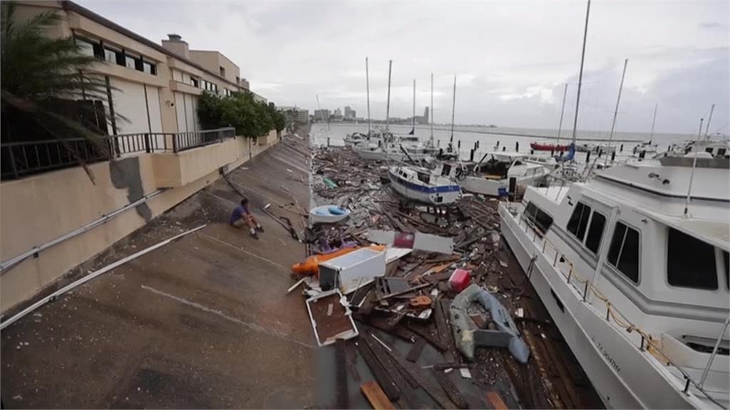「漢娜」過境暴雨釀災!德州宣布進入災難狀態
