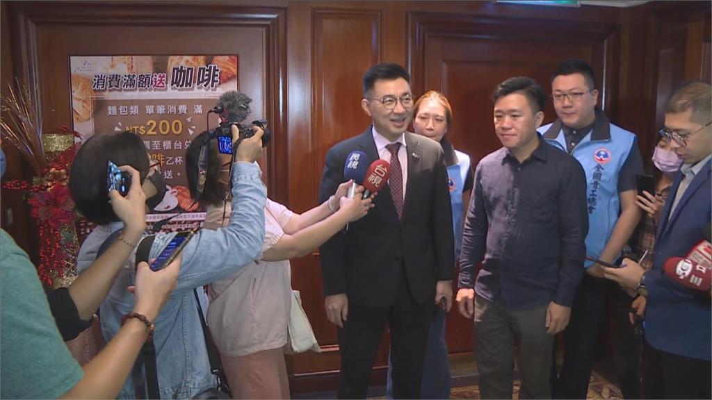 快新聞/黨內大老積極鋪路助選桃園市長 江啟臣:想像力太豐富