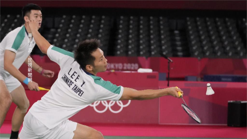 打爆中國雙塔! 王齊麟.李洋奪台灣羽球奧運首金
