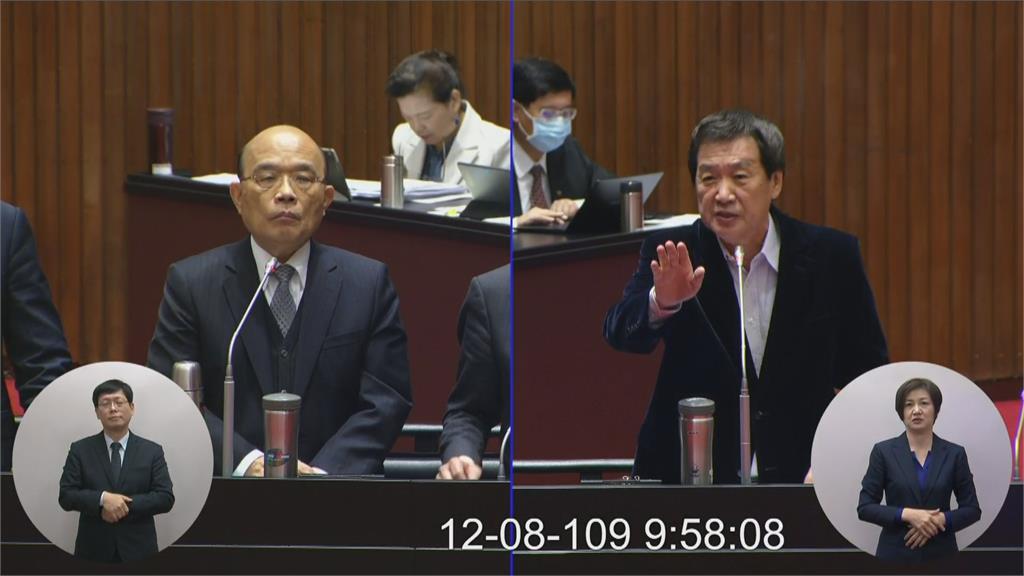 費鴻泰將接國民黨總召 國會攻防升級?總統要立委保重 綠委:天氣冷關心