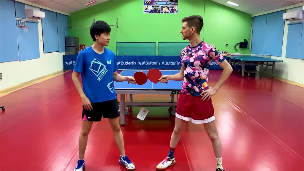 林昀儒讓7分大戰「蛇球好手」 世桌賽評盛讚:是未來的奧運冠軍