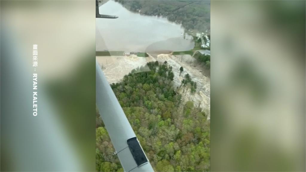 史上最慘水災!密西根州兩水壩潰決 州長宣布緊急狀態