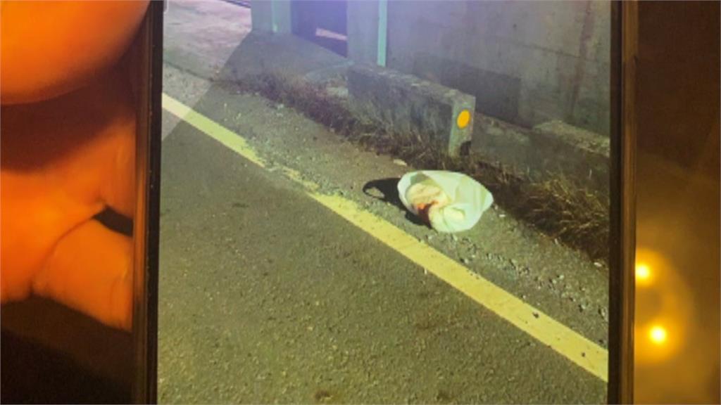 小小生命被裝在白色大塑膠袋...  屏東雙園大橋棄嬰! 警急尋家屬