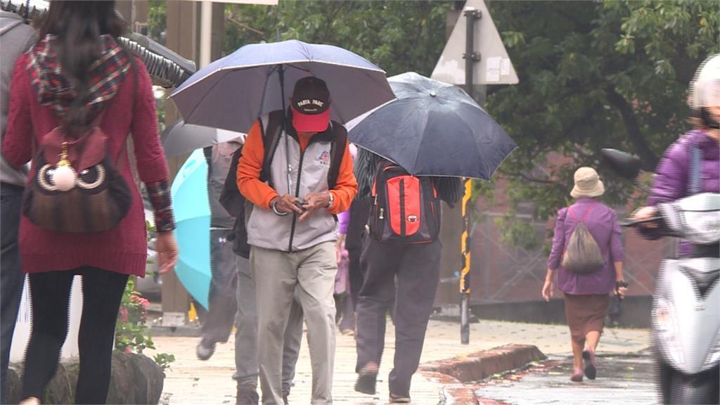 首波梅雨鋒面將報到 周三各地降雨機率增