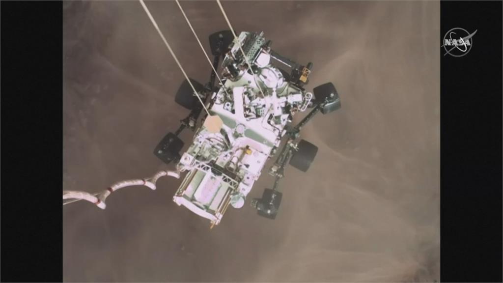 宇宙探索一大步! 「來自火星的風聲」首曝光